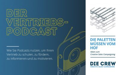 Mit Podcasts neue Impulse im Vertrieb setzen.