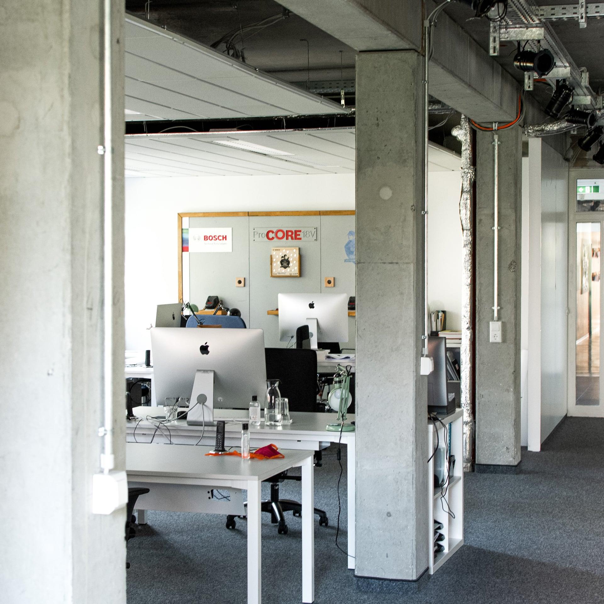 Büro Team Blue Bosch