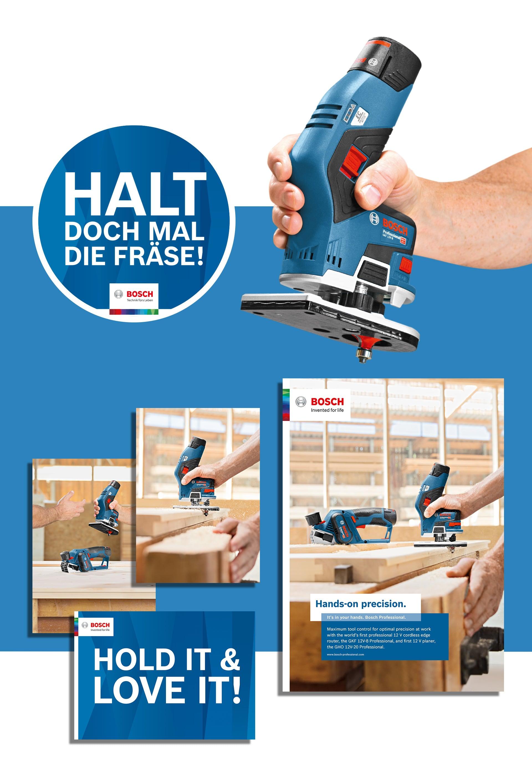 Case Bosch Kantenfräse Printunterlage